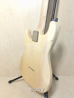 12 String Natural Solid Basswood TOP ELECTRIC GUITAR With Gig Bag Hsst 10s