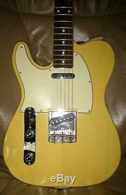 1980's ESP TELECASTER 400 GUITAR JAPAN Left Hand Near MINT 6 String Plus
