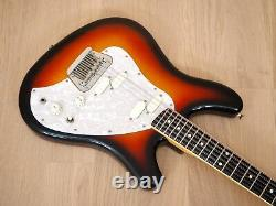 1997 Squier by Fender Venus XII Vista Series 12 String Guitar Sunburst Japan CIJ