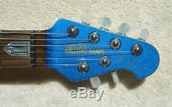 2010 Ernie Ball Music Man John Petrucci Electric Blue 6 String NOS