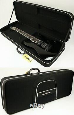 2011 Ibanez RG7321 7-String Electric Guitar with DiMarzio Pups HFC Black #ISS7543