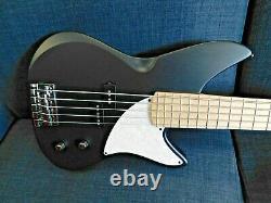2020 MTD Kingston Series CRB 5 String Bass Matte Black Brand New Auth. Dealer