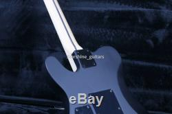 6 Strings TL Electric Guitar Black Color Choose Floyd Rose Bridge Dot Inlay