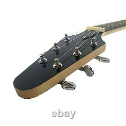 B-Stock Full Size Right Handed Flying V 6 String Guitar Solid Wood Bolt on Neck