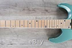 Charvel Angel Vivaldi DK24-7 NOVA 7-String Guitar, Maple, Satin Sage Green