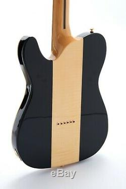Custom TL Truff Dog Electric Guitar Quilted Maple Top Veneer Strings Thru Body