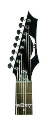 Dean Custom 850X 8-String Electric Guitar Classic Black