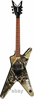 Dean Guitars Dimebag Pantera 6 String ML Electric Guitar, Right, Cowboys