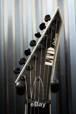ESP LTD MH-1007 Evertune Bridge 7 String Gloss Black EMG Guitar #429 Demo