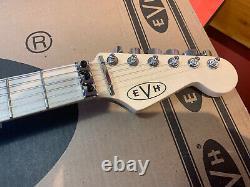 EVH Striped Series 6 String Electric Guitar Black/Yellow