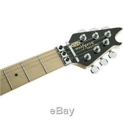 EVH Wolfgang Special 6-String Guitar, Urethane, Black and White Stripes