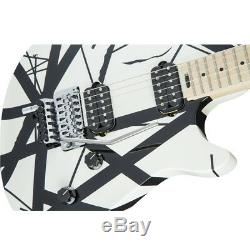 EVH Wolfgang Special Striped Black and White 6-string Electric Guitar, New