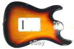 Electric Guitar 6 String By Aria Stratocaster Vintage Tremolo Chrome Hardware