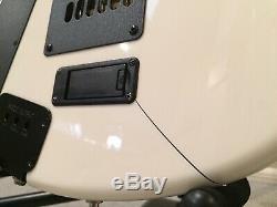 Ernie Ball Music Man JP6 2007 Piezo OHSC White New Strings Setup