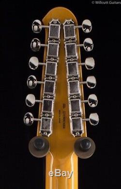 Fender FSR MIJ Traditional Stratocaster XII 3-Tone Sunburst 12 String (684)