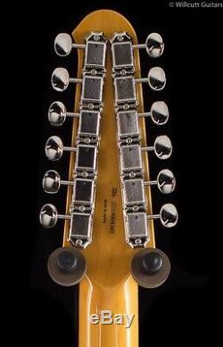 Fender FSR MIJ Traditional Stratocaster XII Olympic White 12 String (345)