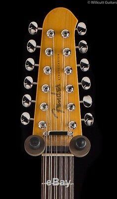 Fender FSR MIJ Traditional Stratocaster XII Olympic White 12 String (393)