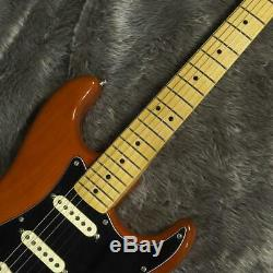 Fender Mexico 70s Stratocaster Mocha Brown E. Guitar Free-Shipping New 6 String