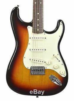 Fender Strat XII in 3 Tone Sunburst 12 String Electric Guitar