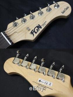 Fujigen BCST10RBD VWH FGN MIJ Made in Japan E. Guitar 6 String Stratocaster Type