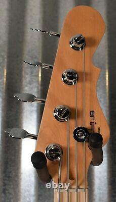 G&L Tribute JB 4 String Jazz Bass Seafoam Pearl Green Demo #1309