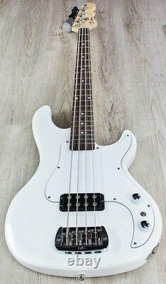 G&L Tribute Kiloton 4-String Electric Bass, Brazilian Cherry Board, Olympic White
