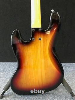G&L Tribute Series JB 4 String Electric Bass 3 Tone Sunburst New