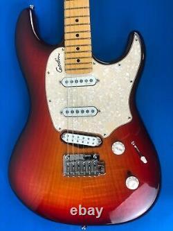 Godin 2015 Progression Plus 6 String Red Sunburst Electric Guitar with Godin Bag