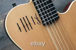 Godin A12 Natural SG Two-Chamber 12-String El. Acoustic Guitar withBag #18473198
