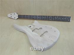 HSE4 19100 Complete No-Soldering 4-String Electric Bass Guitar DIY Kit