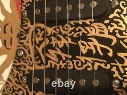 Hand-painted Strat Style Electric Six-string Guitar