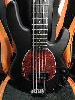 Harley Benton MB-5 5-String Bass Matte Black StingRay