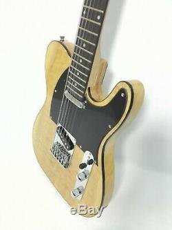 Haze STL-100BNA-12S 12-String Electric Guitar, Natural Quilted Top+Free Gig Bag