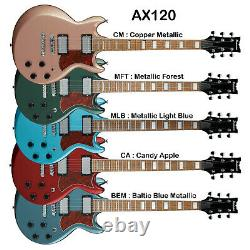 Ibanez AX120 6 string SG Style Right Handed Electric Guitar Choice of Colors