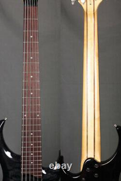 Ibanez BTB406QM 2004 35scale Active 6-string Bass Guitar