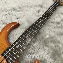 Ibanez BTB406QM 5 String Electric Bass JB Type