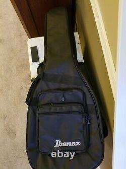 Ibanez EHB1005 5-String Bass Guitar, Black Flat WithGig Bag EXC. CONDITION
