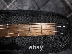 Ibanez EHB1005 5-String Headless Electric Bass Guitar, Black Flat #EHB1005BKF