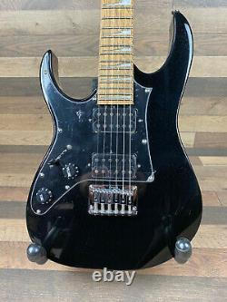 Ibanez GRGM21L-BKN LEFT HANDED Mikro Series 6 String Electric Guitar-Black Night