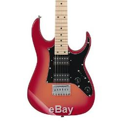 Ibanez GRGM21MORB Mikro Series 6 String Electric Guitar in Orange Burst