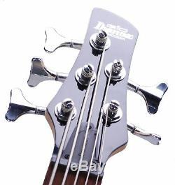 Ibanez GSR105EX 5-String Bass Guitar Black (SNR-6277)