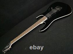 Ibanez Iron Label Rgib21 Baritone 6 String Electr Gloss Black, Emg's &killswitch