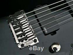 Ibanez Iron Label Rgib6 Baritone 6 String Electr Gloss Black, Emg's & Killswitch