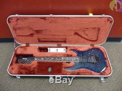 Ibanez J. Custom 2018 RG8527Z Soda Lite E. Guitar Brand New 7 String Blue
