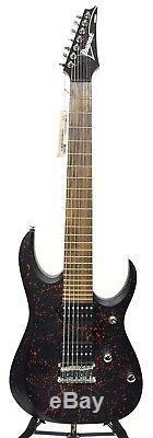 Ibanez KOMRAD20 RS Seven String Electric Guitar Red Splatter Finish 2015