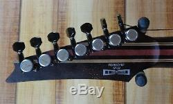 Ibanez Premium RG1027PBF 7-String Electric Guitar Cerulean Blue Burst wSoft Case