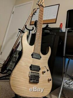 Ibanez Premium RG721FM-NTF 6 String Electric Guitar with Ibanez Premium Case