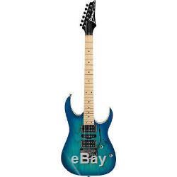Ibanez RG Standard Series RG470AHM 6-String Electric Guitar, Blue Moon Burst