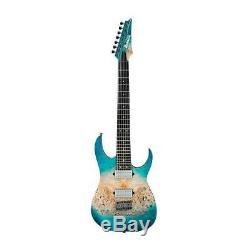 Ibanez RG1127PBFX RG Premium 7-String Electric Guitar, Caribbean Islet Flat
