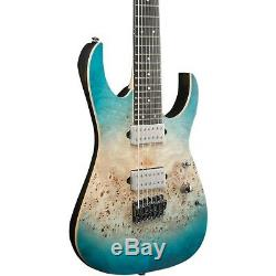 Ibanez RG1127PBFX RG Premium 7-String Electric Guitar Caribbean Islet Flat